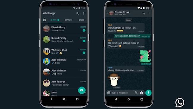 come attivare la modalita oscura di whatsapp su android