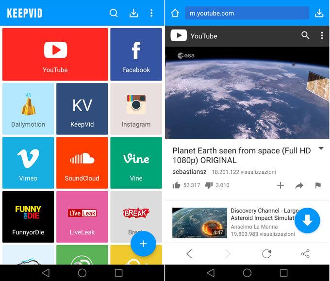 migliori app per scaricare video da internet