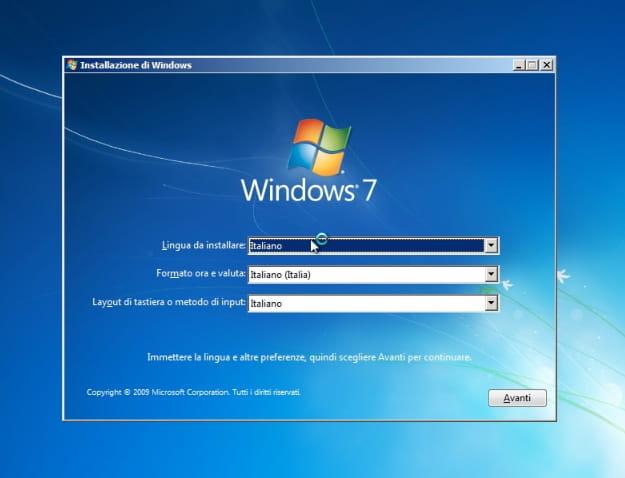 requisiti minimi per installare windows 7